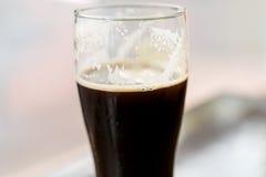 Glasses of dark beer Royalty Free Stock Image