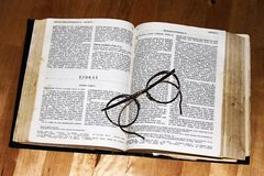 Reading the holy books Stock Photography