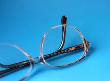 Glasses details royalty free stock photos