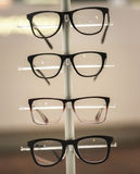 Glasses on display Royalty Free Stock Image