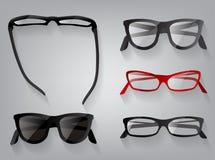 Glasses eye wear glasses, vector illustration. Royalty Free Stock Photography