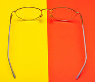 Glasses for eyes Royalty Free Stock Photography
