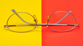 Glasses for eyes Royalty Free Stock Image