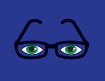 Glasses Eyes Purple Stock Photos