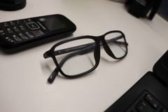 Glasses, Eyewear, Vision Care, Electronic Device stock photography