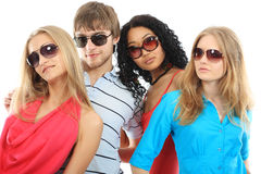 Glasses fashion Stock Image