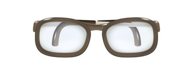 Glasses with folded temples Stock Image