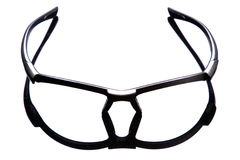 Glasses frame. Front view. Glasess. Frame. Isoaleted on white stock photo