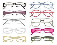 Glasses frames Royalty Free Stock Images