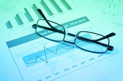 Business vision and success concept stock photos