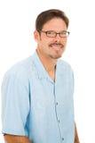 glasses handsome man wearing Στοκ Φωτογραφίες