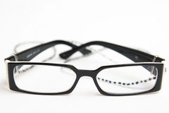 Glasses with hanger Royalty Free Stock Images