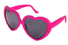 Glasses heart Stock Photo