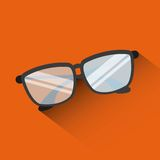 Glasses icon Stock Photo