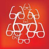 Glasses icon Stock Photo