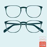 Glasses icon  Royalty Free Stock Photography