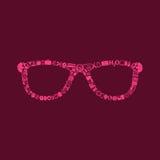 Glasses icon Royalty Free Stock Photos