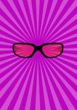 glasses illustration Στοκ φωτογραφία με δικαίωμα ελεύθερης χρήσης