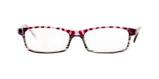 Glasses isolated Royalty Free Stock Image