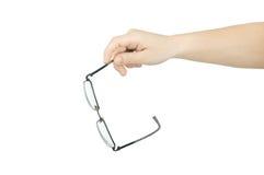 Glasses isolated Stock Photo