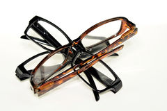 Glasses isolated Royalty Free Stock Photos