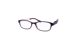 Glasses. Isolated of spectacles with white background Stock Photo