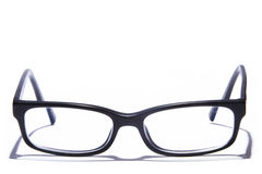 Glasses isolated on white Royalty Free Stock Photography