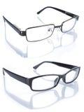 Glasses isolated on white background Stock Photography