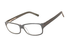 Glasses isolated. On white background stock photo