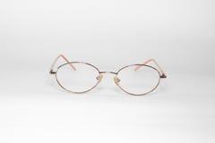 Glasses Isolated on White. Background royalty free stock photo