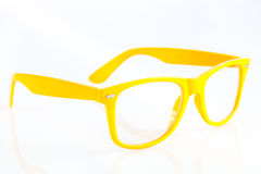 Glasses isolated on white background accesories fashion object Royalty Free Stock Images