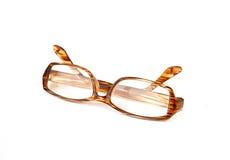 Glasses isolated on white background Royalty Free Stock Photo