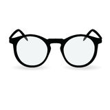Glasses isolated on white background. Vector illustration Royalty Free Stock Images