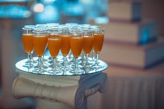 Glasses, Juice, Drink, Glass Royalty Free Stock Photography