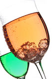 Glasses And Liquids Royalty Free Stock Photo
