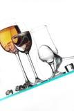 Glasses And Liquids Stock Image