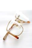 Glasses macro Stock Image