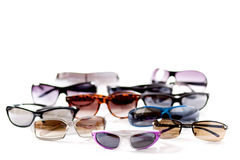 Glasses marching Royalty Free Stock Image
