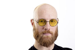glasses men 图库摄影