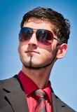 Glasses model Stock Images