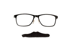 Glasses and Moustache Royalty Free Stock Image