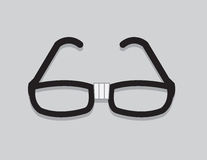 Glasses Nerd Stock Photography