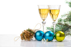 Free Glasses Of Vine. Royalty Free Stock Photography - 26962287