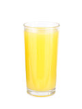 Glasses of orange fruit juice Stock Images