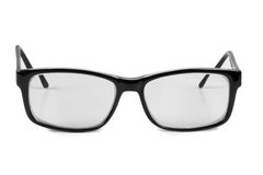 Glasses in plastic frame one Stock Images