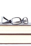 Glasses and reading book Royalty Free Stock Photography