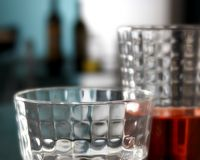 Glasses of red drink Royalty Free Stock Image