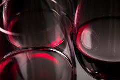 Glasses of red wine Royalty Free Stock Photography