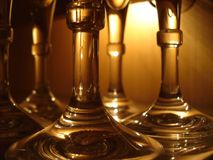 Glasses, Restaurant, Glass, Drink Stock Photo