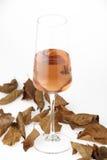 Glasses of rose wine Stock Photos